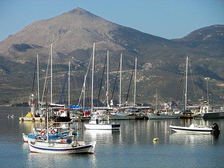 Greece, Aegean Sea, Milos, Cyclades, Island