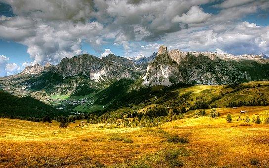 Alta Badia, Dolomites, Mountains, South Tyrol, Alpine