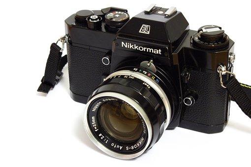 Nikon, Analog, Camera, Nikkormat, Old Camera