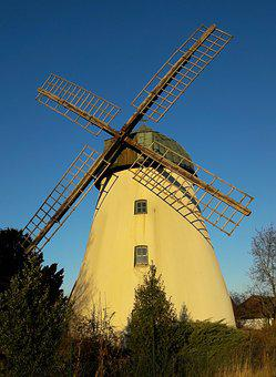 Windmill, Mill, Wind Energy, Old Windmill, Monument
