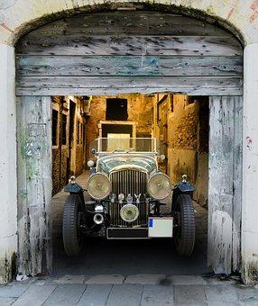 Vehicle, Traffic, Auto, Oldtimer, Bentley, Old, Goal