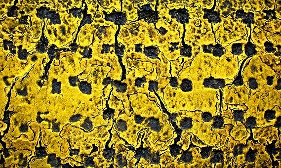 Yellow, Grunge, Pattern, Texture, Distressed, Damage