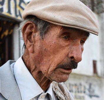 Man, Elder, Face, Person, Grandfather