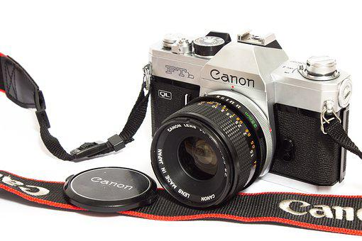 Canon, Camera, Film, Analog, Photography, Photograph