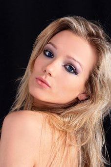 Woman, Girl, Portrait, Models, Laying, Blonde, Bella