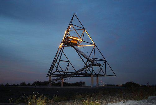 Tetrahedron, Bottrop Germany, Dump, Ruhr Area