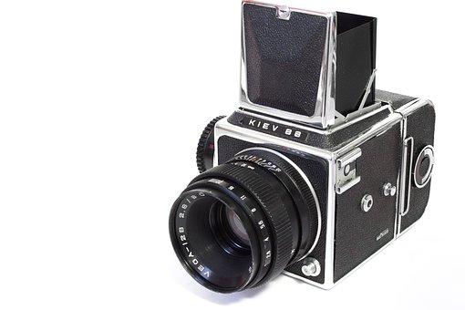 Analog, Camera, Russian, Kiev, Medium Format