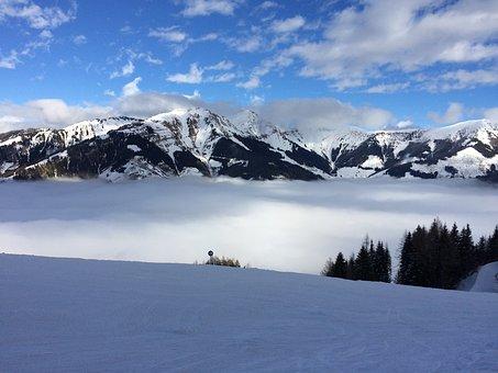 Snow, Mountains, Snow Landscape, Alpine, Winter