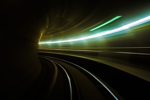 Metro, Space, Speed, Urban, Travel, Brick, Trains