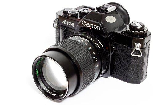 Canon, Camera, Analog, Spiegelrefelx, Photography