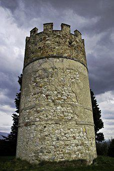 Tower, Old, Italy, High, Stone, Defend, Fairy Tail
