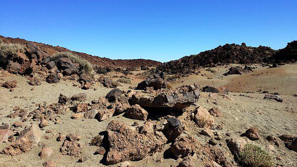 Tenerife, Teide, Rocks, Canary Islands