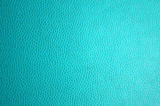 Turquoise Leather, Leather Texture, Leather, Texture