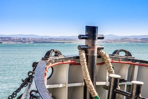 Tugboat, Boat, Ship, Water, Sea, Vessel, Transportation