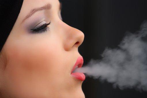 Girl Smoke Cigarette, Nicotine, Woman, Vice, Smoking