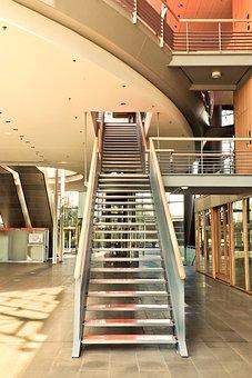 Architecture, Interior Design, Building, Staircase