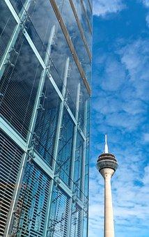 Architecture, Modern, Building, Skyscraper, Glass