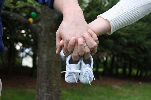 Baby, Announcement, Shoes, Birth, Cute, Newborn