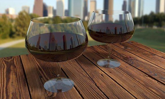 Wine, Glass, Glass Of Wine, Alcohol, Drink, Wine Glass