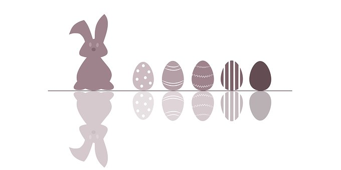 Easter, Hare, Egg, Easter Bunny, Spring, Greeting Card