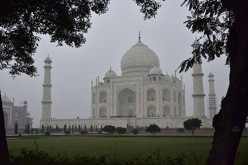 India, Agra, Taj Mahal, Tomb, Monument, Architecture