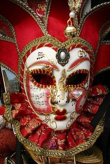 Mask, Carnival, Venice, Italy, Headdress, Sparkle