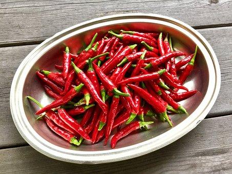 Cayenne Pepper, Claw Of Hawk, Kitchen Garden
