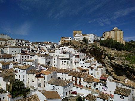 Setenil De Las Bodegas, People, Andalusia, Spain