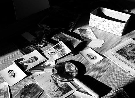 Photo, Elderly, Photographs, Contrast
