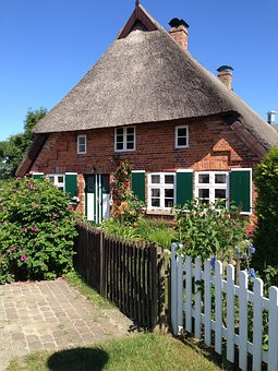 Thatched Roof, Baltic Sea, Thatched, Reed, Tradition