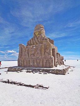The Salar De Uyuni, The Dakar Rally, Bolivia, Uyuni