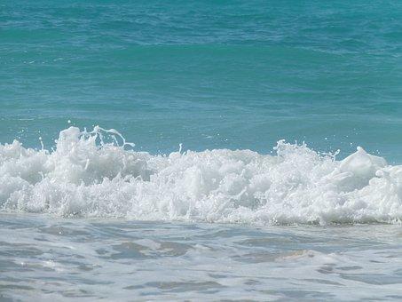 Wave, Sea, Blue, Ocean, Water, Ocean Waves, Ocean Wave
