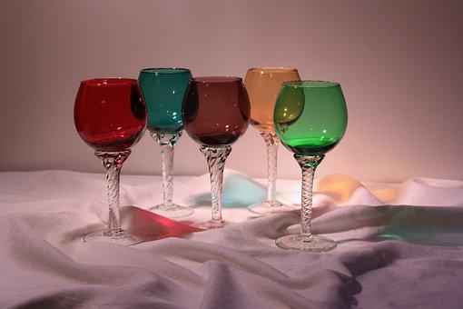 Wine Glasses, Romans, Ziergläser, Still Life, Glasses