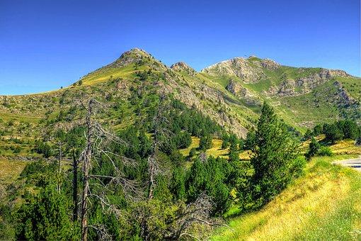 Alt De La Copa, Andorra, Mountains, Pyrenees, Nature