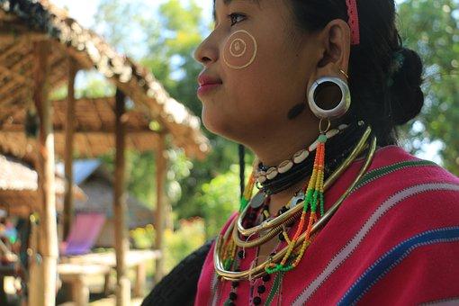 Thailand, Asia, Culture, Village, Portrait, Hill, Women