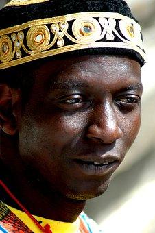 Portrait, Face, African, Folklore, Clothes, Headdress