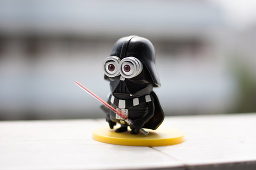 Minion, Darth Vader, Doll