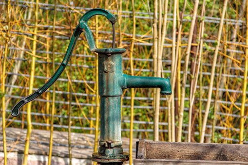 Water Pump, Pump, Hand Pump, Water, Fountain