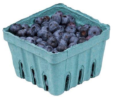 Fruits, Healthy, Vitamins, Eat, Diet, Blueberries, In