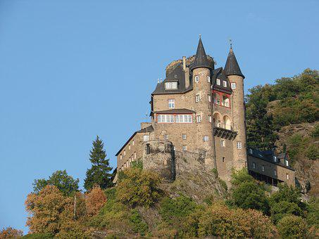 Loreley, Rhine, Germany, River, Goarshausen, Tourism