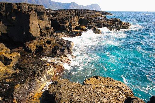 Hachijojima, Sea, Coast