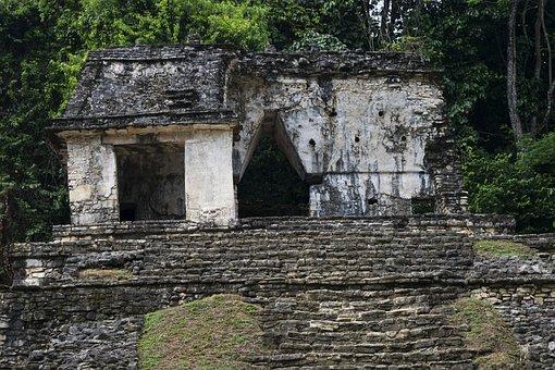 Yaxilan, Chiapas, Mexico, Maya, Ruins, Jungle