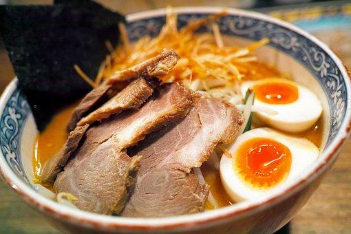 Ramen, Japanese Food, Cuisine, Roasted Pork, Miso Ramen