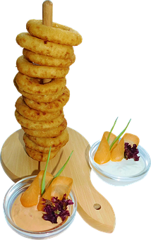 Onions, Food, Onion Rings, Fried, Vegetables