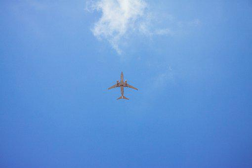 Plane, Sky, Flight, Aviation, Take Off, Height, Clouds
