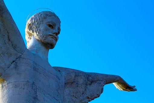 Christ, Momunento, Basilicata, Maratea, Italy, Religion