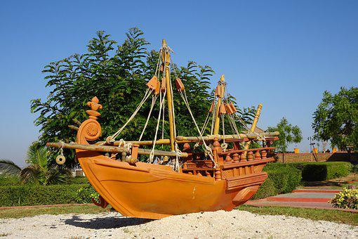 Boat, Wooden, Traditional, Replica, Tourism, Vessel