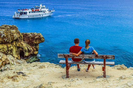 Couple, View, Sea, Love, Relationship, Romantic