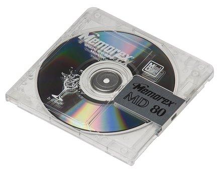 Minidisc, Sony, Md, Audio, Tape, Memorex