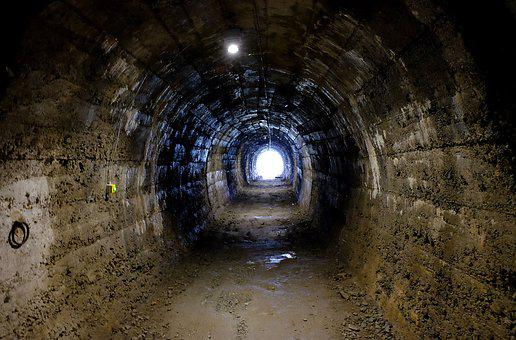 Tunnel, Bunker, Cave, Catacombs, Prison, Bricked